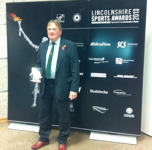 Tony Perrin; Lincolnshire Sports' Coach of the Year 2013