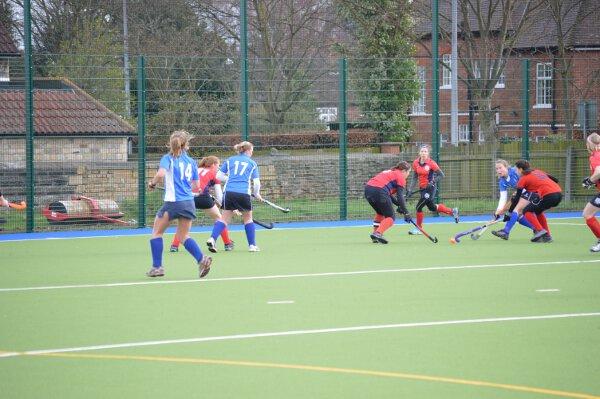 Ladies 1s v. Cambridge City 2, Feb 15, 2014