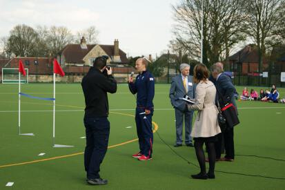 Glenn Kirkham - Lindum Sports Association Hockey Pitch Opening