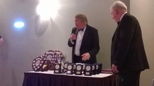 Tony Perrin and Pete Richards : End Of Season Ball 2014