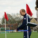 Glenn Kirkham Opening the Lindum Hockey Pitch