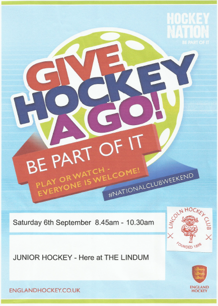 Give Hockey A Go poster, September 2004