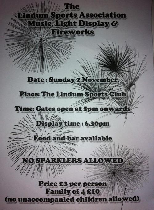Lindum Fireworks 2014