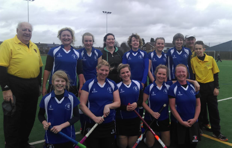 Lincoln Hockey Club Ladies 3rd Team February 2015