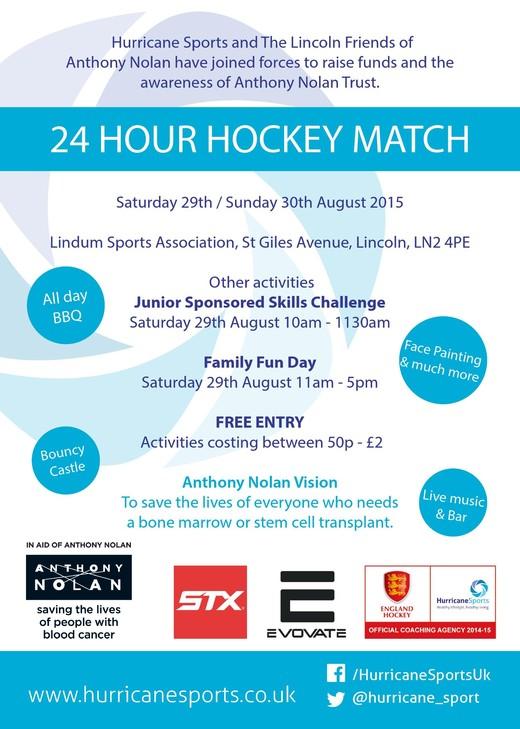 24 hour Hockey Match at the Lindum