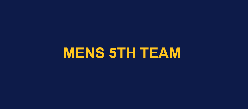 Mens 5th Team