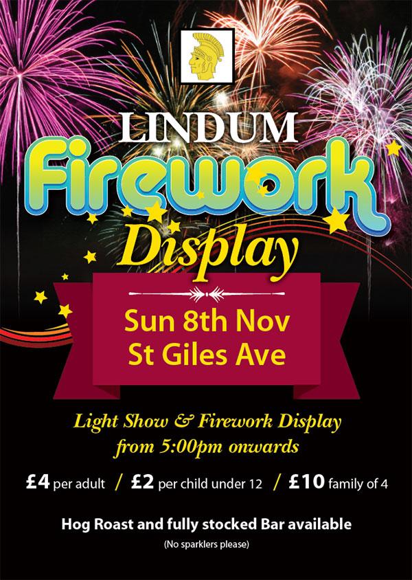 Lindum Fireworks
