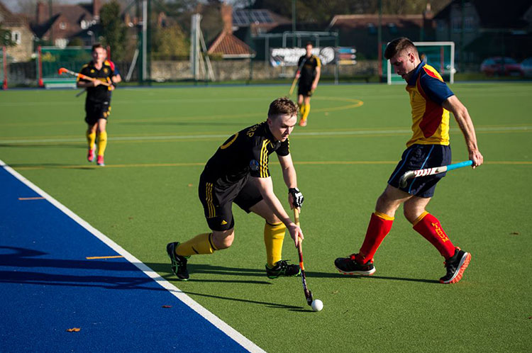 Lindum HC Mens 1st Team v Beeston, November 2015