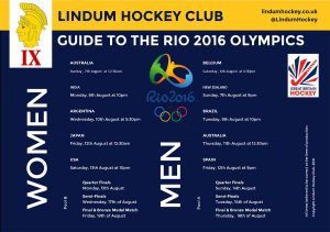 Guide to the Rio Olympics Hockey Preview