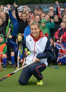 Georgie Twigg at Lindum Hockey Club