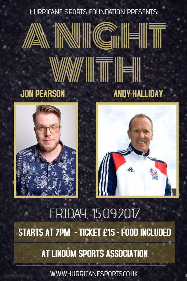 A Night with Andy Halliday and Jon Pearson